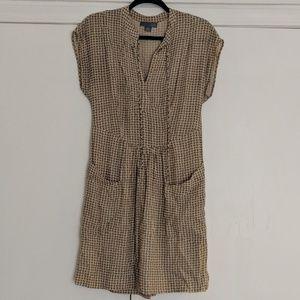 LIL Anthropologie LOVE Print First Blush Dress